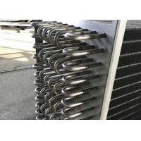 China Stainless Steel Fin Type Heat Exchanger Easy Installation For Wood Drying wholesale