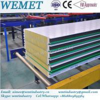 China New Type glass wool fire proof insulated wall panel for steel warehouse on sale