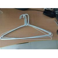 China Silver Color Galvanized Metal Wire Hangers Variety Styles Fit Men And Women Suits wholesale