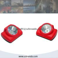 China High-performance Lithium Battery LED Cordless Mining Cap Lamps in Underground  KL6-C 13000lux on sale