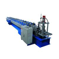 China Garage Door Guide Rail Forming Machine for 2.0-2.5mm Thickness Material on sale