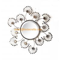 China China Supplier Metal Framed Acrylic Decorated Wall Mirror Bevelled edge Mirror wholesale