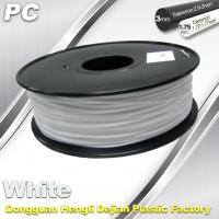 China PC Filament for  1.75mm / 3.0mm Filament 1.3 Kg / Roll wholesale