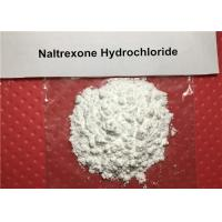China 99% Long Acting Narcotic Antagonist Drug Raw Powder Naltrexone Hydrochloride CAS 16676-29-2 on sale