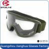 China Vidrios tácticos militares de las lentes de la PC del marco de Airsoft TPU/gafas balísticas wholesale