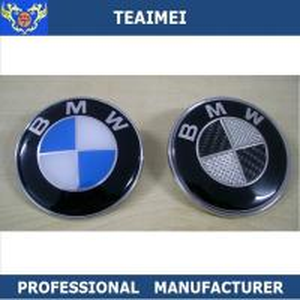 China 68mm ABS Plastic Chrome Custom Car Emblems Car Wheel Center Cover Cap wholesale