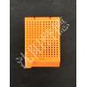 China Biopsy Square Holes Orange Embedding Cassettes , Tissue Embedding Molds wholesale