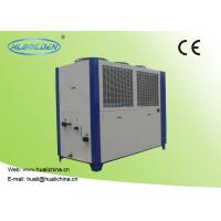 China Air Cooled Industrial Water Chiller Sheet Metal Housing Printed High Efficient Compressor With CE wholesale
