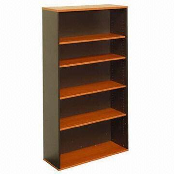 Quality Bookcase, Melamine Faced Chipboard, Flat Packing for sale