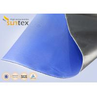 China 13.5OZ 0.017Inch Fireproof Fiberglass Cloth For Expansion Joints , Woven Glass Cloth wholesale