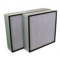 China High Temperature hepa filter, high efficiency air filter with superfine glass fibre cardboard for chemistry on sale