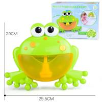 China Lightweight Bath Time Bubble Frog , Silicone Fun Bath Toys For Babies on sale