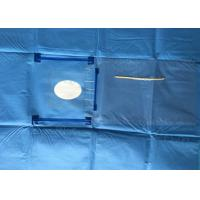 China Eye / Ophthalmic Surgery Disposable Surgical Drapes With Incision Film wholesale