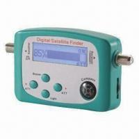 China Analogue Signal Satellite Finder with Built-in Signal Alert Buzzer wholesale