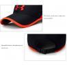 China Fashionable Embroidered Baseball Caps For Women Short Brim Style wholesale