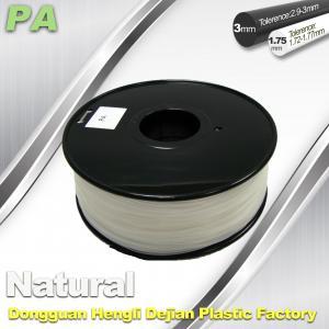 China Diameter Of 1.75mm And 3.0mm PA  Nylon 3D Printer Filament  Materials wholesale