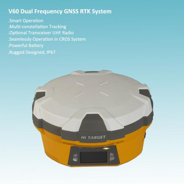 Quality Multi-constellation Tracking Dual Frequency RTK GPS for sale