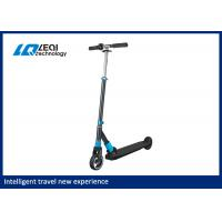 China Simple Electric Folding Scooter , Fold Up Electric Scooter 23km / H Max Speed wholesale