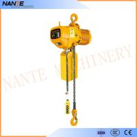 China Industrial Electric Chain Hoist for Crane / Travelling Type / Fixed Type Electric Hoist wholesale