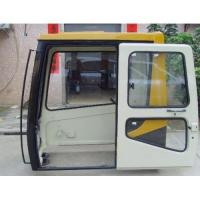 China OEM CAT E320B Excavator Cab/Cabin Operator Cab and Spare Parts Excavator Glass on sale