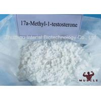 China Androgens White Powder Strongest Testosterone Steroid 17a Methyl 1 Testosterone 98% CAS 65-04-3 wholesale