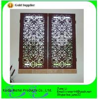 China Ormental wrought iron metal bar iron windows grills design wholesale