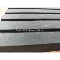 China Horse Rubber Mats for Horses Stables Wide Ribbed Shock Absorption Rubber Matting on sale