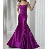 China Elegant Open Back Shoulder Strap Purple Formal Evening Dresses For Women wholesale