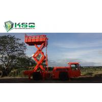 China Underground Service Vechicles 1 Ton Scissor Lift Truck for Underground Mining or Tunneling Project wholesale