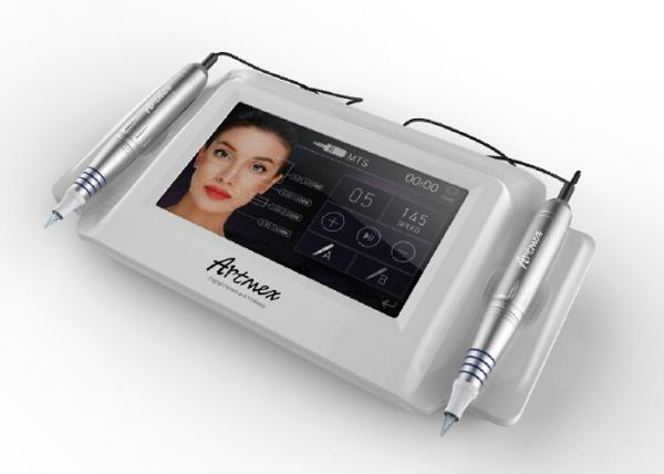Quality Machine médicale de tatouage de grand écran tactile coloré, machine rotatoire de maquillage permanent avec 2 stylos for sale