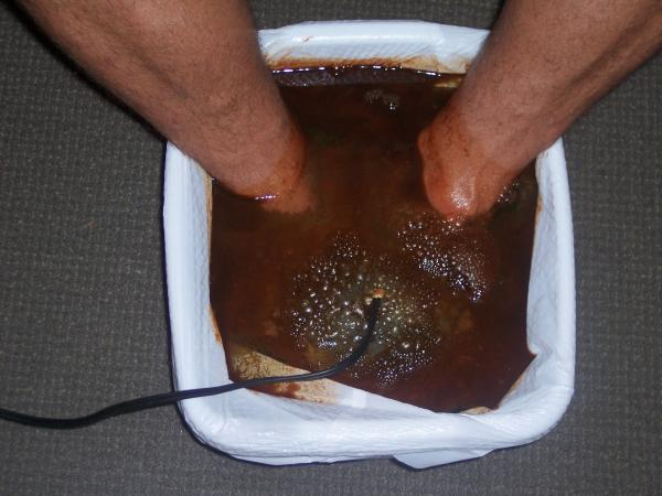Ionic Foot Bath Images