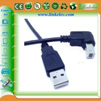 Quality braided usb cable 90 degree angle direction USB for sale