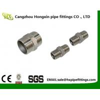 China 2 Hex Nipple 3/8 Male x 3/8 Male 304 Stainless Steel threaded Pipe Fitting NPT wholesale