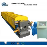China Durable Automatic Metal Steel Down Pipe Roll Forming Machine With PLC Control System wholesale