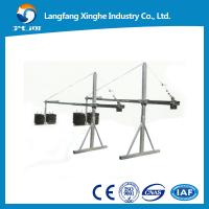 China Suspended rope cradle / construction gondola platform /zlp suspended scaffold platform wholesale