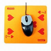 China Mouse Pad with Silkscreen Printing, Made of EVA and PVC, Suitable for Promotional Purposes wholesale