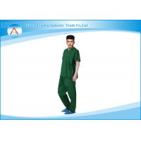 China Plus And Petite Size Medical Scrubs Uniforms Male Doctor Or Nurse on sale