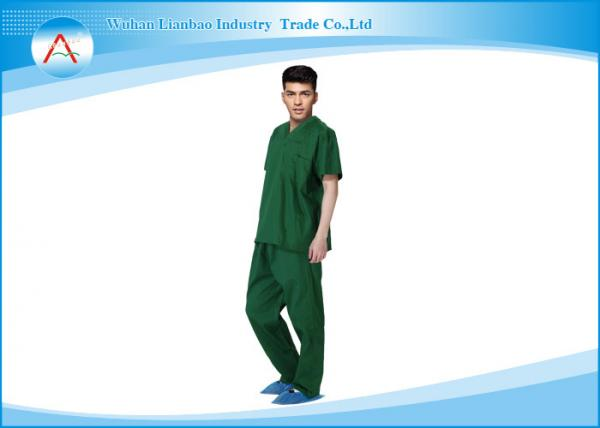 Quality Plus And Petite Size Medical Scrubs Uniforms Male Doctor Or Nurse for sale