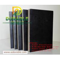 China Cheap price plywood  15mm black film faced plywood 4*8/5*10 standard size Durable Solid Plywood For Europe Market