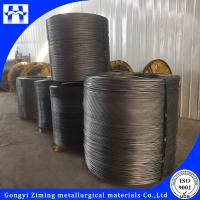 China high calcium solid cored wire from steel making on sale