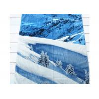 China Travel Cotton Beach Towels Promotional Printed 80cm*140cm For Adult wholesale