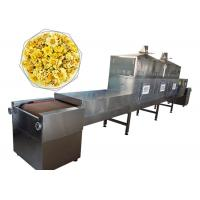 China Commercial Microwave Flower Dryer Machine Multilayer Belt Type For Bamboo Products wholesale