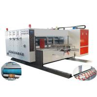 Buy cheap Automatic Flexo Printer Die-cutter Machine, Automatic Lead-edge Feeding, High from wholesalers