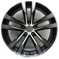 China 20 Inch Aluminum Alloy Wheels 5x120 Bolt Pattern Aftermarket Rims Black Painted for BMW wholesale