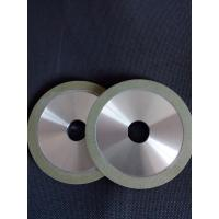 China Green Color Vitrified Diamond Grinding Wheels Wear Resistance For Tungsten Carbide wholesale