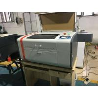 Buy cheap 50 W Power Leather / Mini Laser Engraving Machine With Ruida System from wholesalers