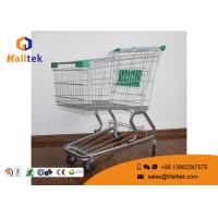 China German Style Supermarket Shopping Trolley Unfolding Cart For Grocery Store wholesale