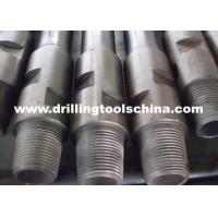 China Machining Casting Threaded Drill Rod , 60mm Stainless Steel Drill Rod wholesale