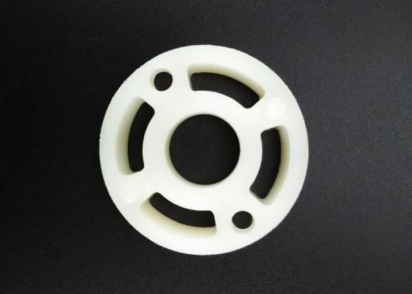 Quality Injection Molded Plastic Washer Bushing 45mm Oyster Double Round Body Design for sale