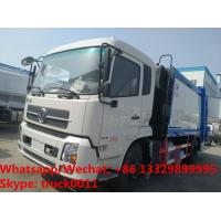 China Dongfeng Tianjin garbage compactor truck 6 wheels compressed garbage truck 8 tons capacity garbage trucks for sale on sale